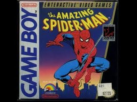 the amazing spider man game boy rom