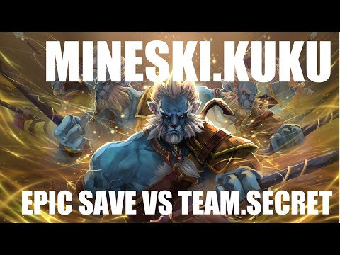 Mineski.Kuku Phantom Lancer epic save vs Team Secret l The Frankfurt Major