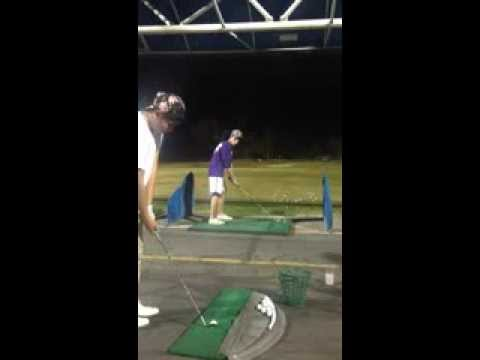Check Out This Trick Golf Shot (Amazing Team Effort!)