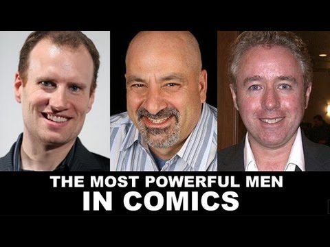 Mark Millar, Dan DiDio, Kevin Feige - The Most POWERFUL Men in Comic Books Interview!