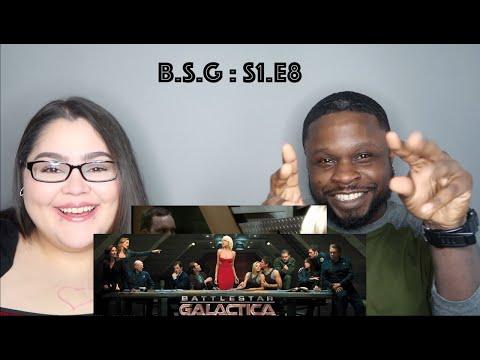 "Battlestar Galactica Season 1 Episode 8 ""Flesh and Bone"" Jae's Reaction"