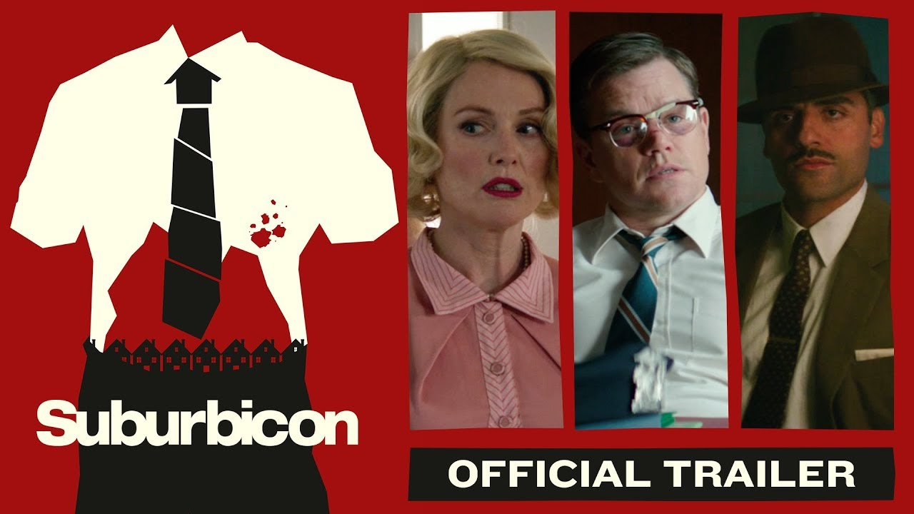 Watch Matt Damon go on a Rampage in George Clooney's Crime Comedy 'Suburbicon' with Oscar Isaac & Julianne Moore