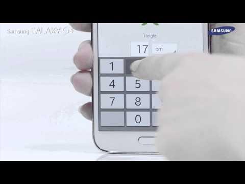 Samsung GALAXY S5 - Jak skonfigurować aplikację S Health