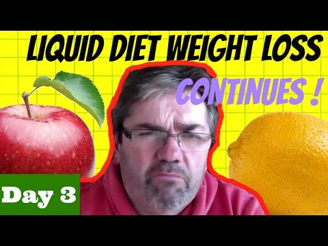 Day 3 – Liquid Diet Weight Loss Continues!