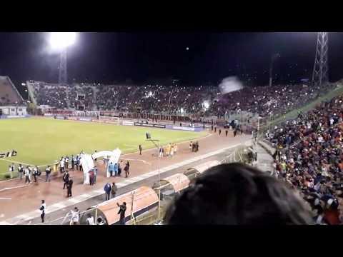 Recibimiento Wilstermann - Libertadores - Gurkas - Jorge Wilstermann