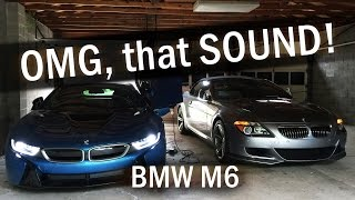 Happiness IS the BMW M6: OMG, that SOUND! by DoctaM3's Supercars Personified