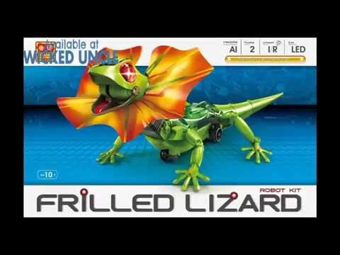 Youtube Video for Frilled Lizard - Build your own Robot Pet