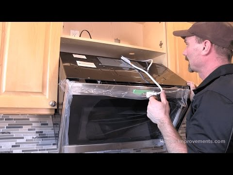 How To Install A Microwave [Over-The-Range Style]