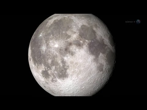 meteorito en la luna