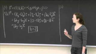 Conservative Fields And Exact Differentials | MIT 18.02SC Multivariable Calculus, Fall 2010
