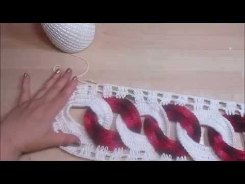uncinetto - come realizzare un centrotavola