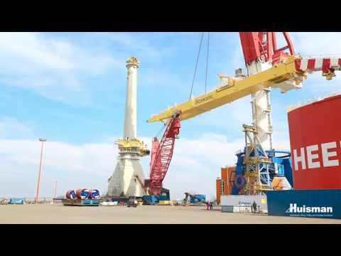 Cẩu Offshore lớn nhất thế giới @ 3000T