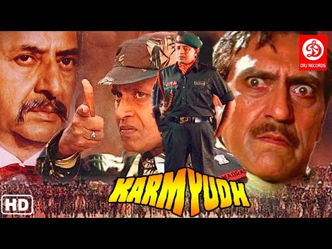 KaramYudh Action Movies {HD} Mithun Chakraborty Action Movie | Amrish Puri | Bollywood Action Movies