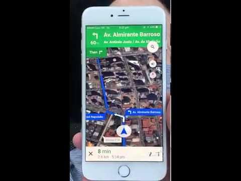 Haastavaa käyttää GPS:ssää Brasiliassa