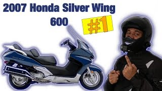 10. Honda silverwing 600 Ride with discussion #51