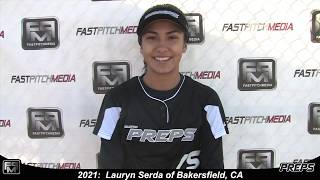 2021 Lauryn Serda Outfield Softball Skills Video - Easton Preps