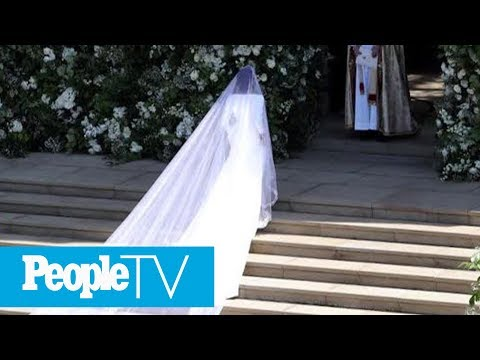 All About Meghan Markle's Gorgeous Givenchy Wedding Dress | PeopleTV