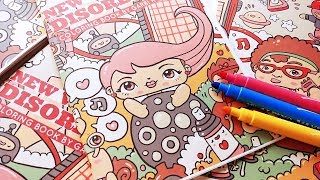 Coloring Book - The New World Disorder by Garbi KW - Kawaii Doodles