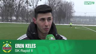 Interview mit Rapid II-Neuzugang Eren Keles