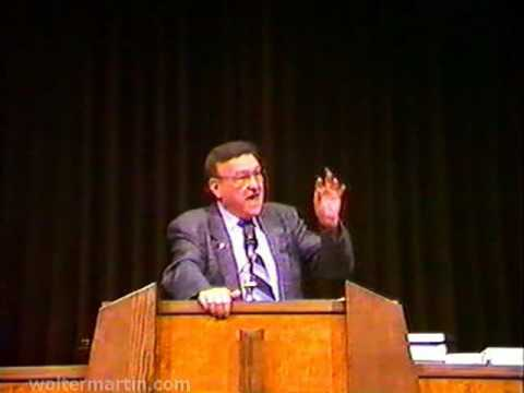 Dr. Walter Martin – Part 2 of 2 – Jehovah's Witnesses and Jesus Christ 1988