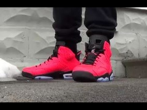 2014 Air Jordan 6 Infrared 23 VI 6s Sneaker Review + On Feet W/ Dj Delz + Vlog On Important Heads Up