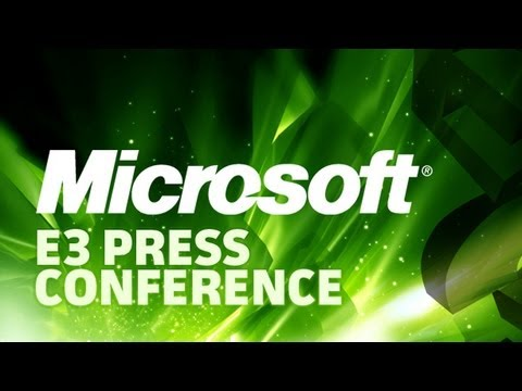 Conference - Join us LIVE for the Microsoft Press Conference from E3 2012!