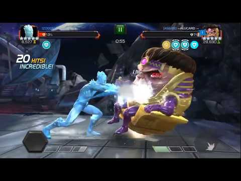 Alliance War Vs AS&RE - Return Of M.O.D.O.K -  Marvel Contest Of Champions