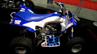 10. 2013 Yamaha YFZ450R Pure sport ATV - 2012 Salon National du Quad - Laval Off Road Vehicles Show
