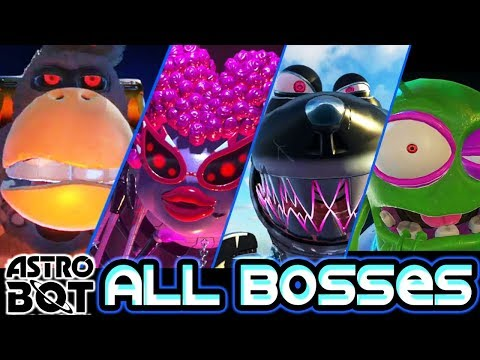 Astro Bot: Rescue Mission All Bosses (PS4 PSVR) [ No Damage ]