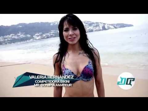 Photo Shoot Valeria Hernandez Acapulco 2014 con Alfonso Zavala