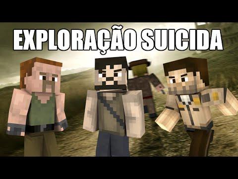 Minecraft The Walking Dead – Mais uma exploração suicida #14
