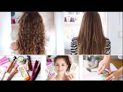 Meine Haar-ROUTINE(n): lockig und glatt