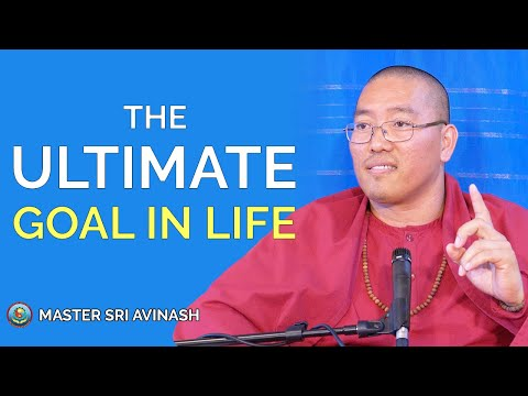 Life quotes - The Ultimate Goal in Life - Satsang with Sri Avinash