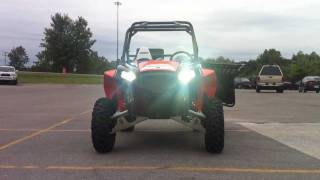 5. 2012 Polaris RZR XP 900 Black/Orange Madness LE