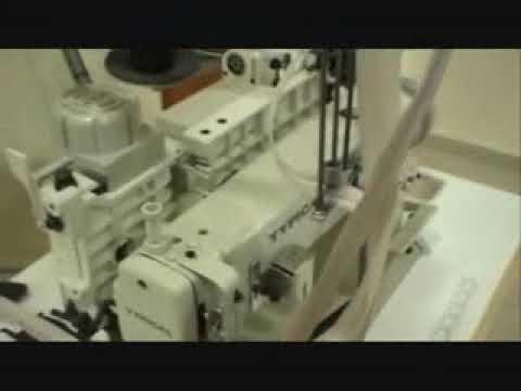 1300/1 Pantolon Fermuarı Patlete Takma Makinesi