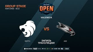 North vs AGO - DreamHack Open Valencia 2018 - map3 - de_train [CM, Anishared]