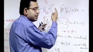 Mod-01 Lec-08 Approximate Solutions Of Differential Equations: Variational Principles
