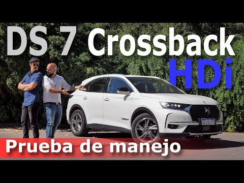 Test drive DS7 Crossback HDi