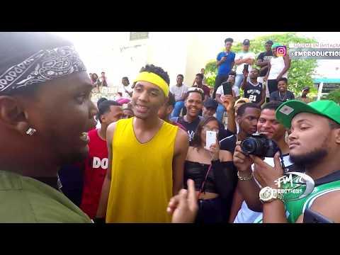 Videos musicales - TE HACEN FALTA LIBRAS!!! Felpa Divo Vs El Genesis Junte Freestyle en San Cristobal 2019