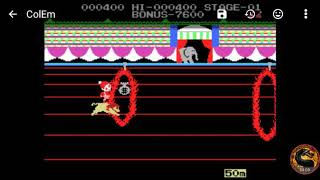 Circus Charlie (Colecovision Emulated) by omargeddon