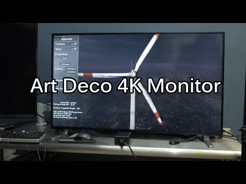 40 inch 4k - The Microboard B400UHD HDX - Sexiest Korean 4k Display Yet