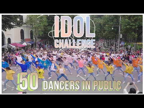 [KPOP IN PUBLIC COLLABORATION]  IDOL CHALLENGE- BTS dance cover by Oops!crew, B-wild&FG from Vietnam