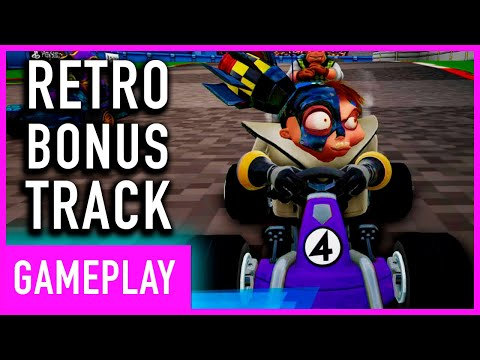 Crash Team Racing Nitro Fueled - Playstation Exclusive Retro Bonus Track
