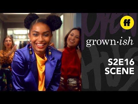 grown-ish Season 2, Episode 16   Rainbow's Closet Runway   Freeform