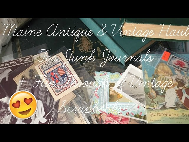 Antique-ephemera-haul-for-junk