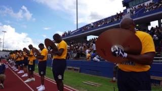 Southern University Marching In (2017)  SU vs. PV Alumni BOTB