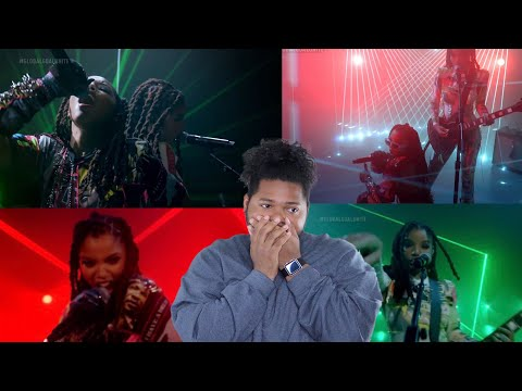 CHLOE x HALLE - ROYL (LIVE ON THE GLOBAL CITIZEN: UNITE FOR OUR FUTURE CONCERT) | REACTION !!