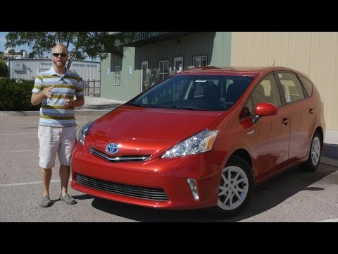 2014 Toyota Prius V: Is it for you?  Real world analysis and test drive.