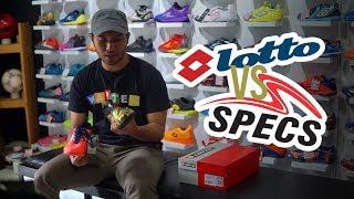 Video Sepatu Futsal mana yang Terbaik? Specs ILLUZION Laceless vs Lotto Veloce! MP3, 3GP, MP4, WEBM, AVI, FLV September 2018