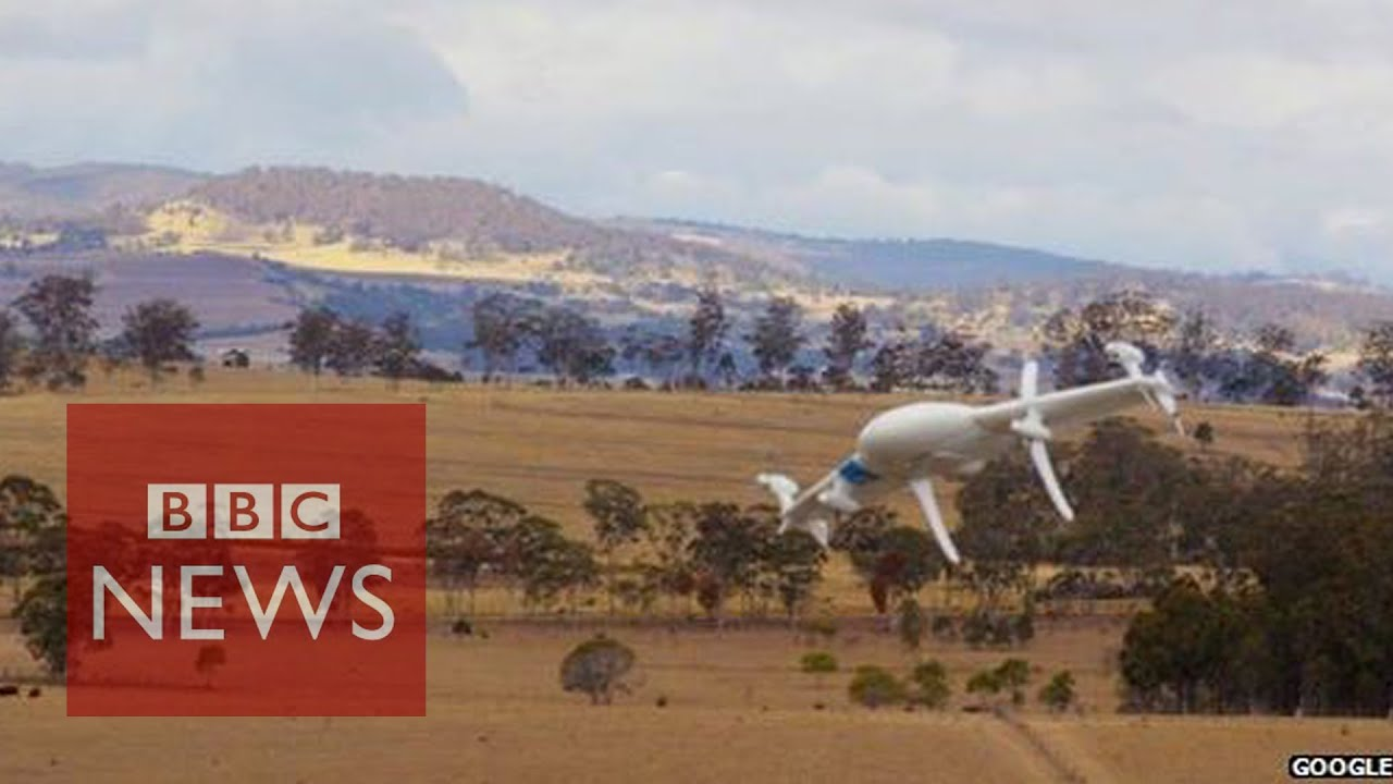 Google reveals Project Wing drones – BBC News